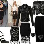 Partylook inspiratie #1: zwart crochet