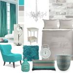 Slaapkamer inspiratie: zacht turquoise & naturel