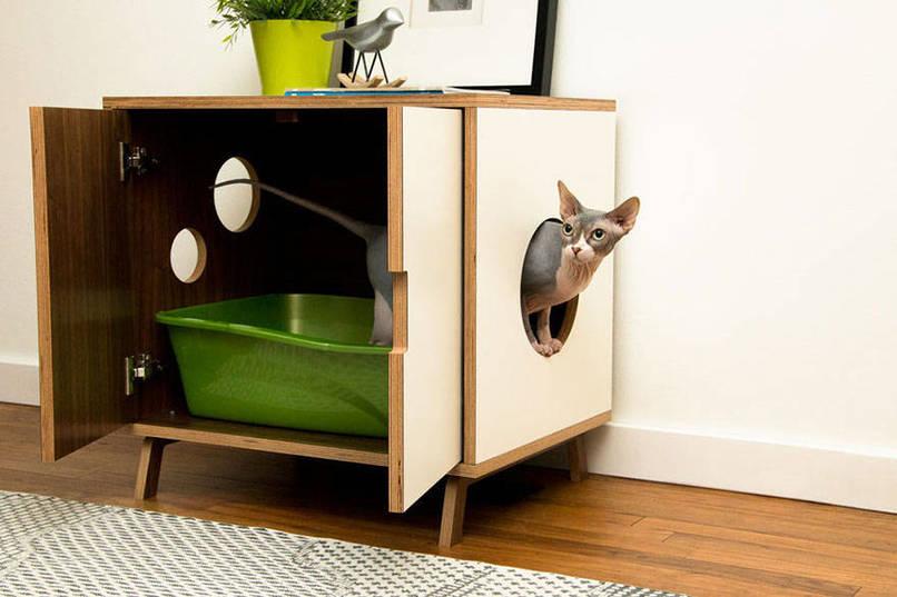 Designmeubels voor katten