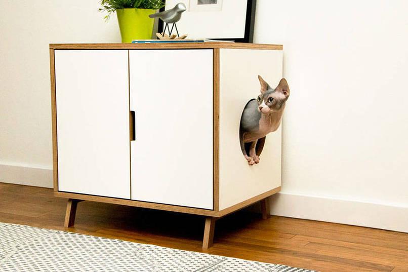 design meubles voor katten